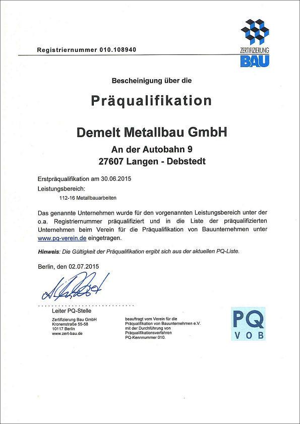 demelt_praequalifikation